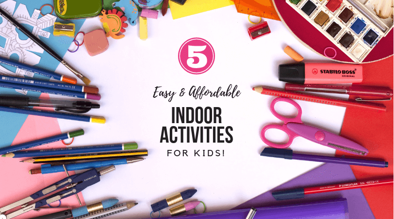 indoor activities for kids, easy indoor activities for kids, art activities for kids, creative indoor activities for kids