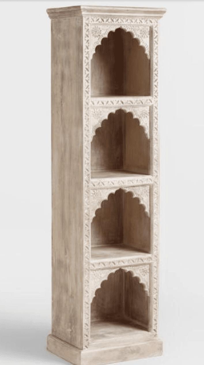 cost-plus-hand-carved-wood-bookshelf