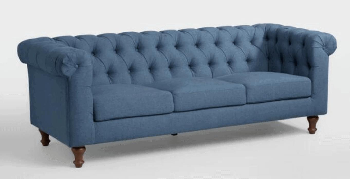 DenimBlue Quentin Chesterfield Sofa