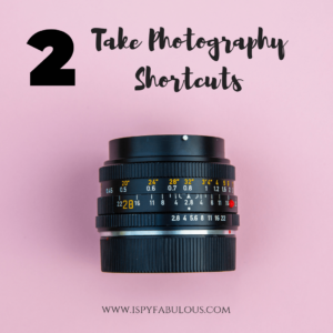 Blogging mistakes to avoid, such as doing all your own photography