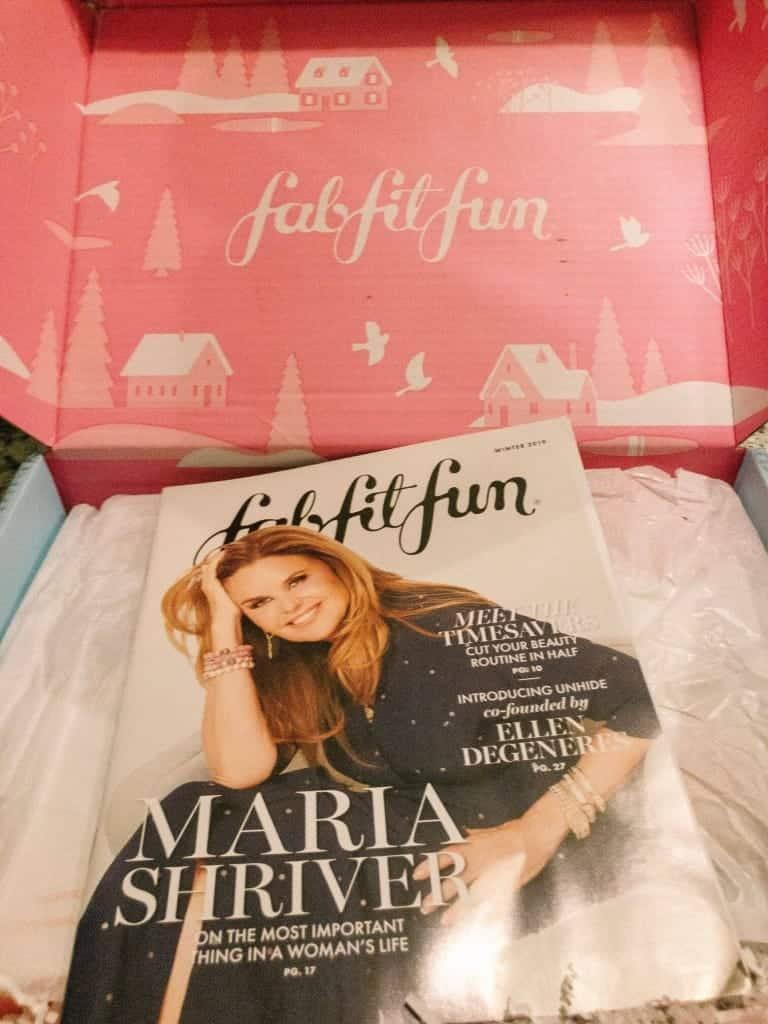 winter fabfitfun box