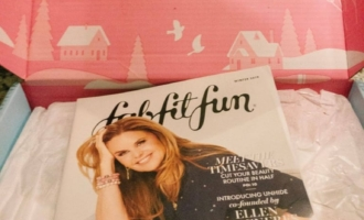 winter fabfitfun box