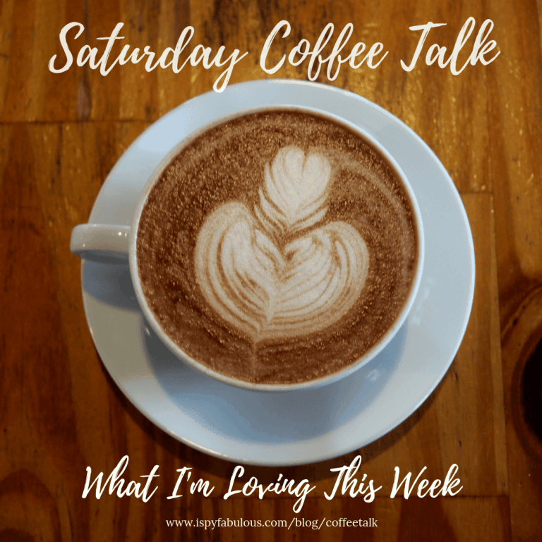 Saturday Coffee Talk