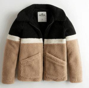 hollister-colorblock-faux-fur-bomber