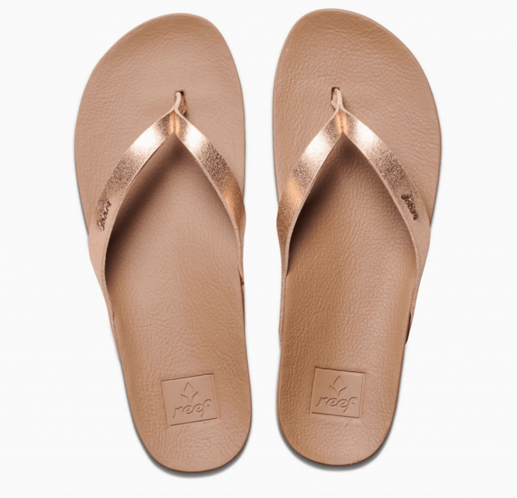 comfortable-flip-flops-reef-cushion-sandal-in-rose-gold