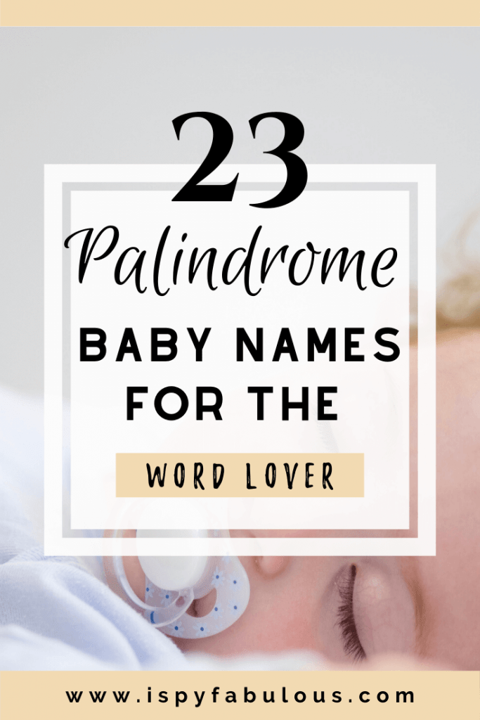 palindrome names