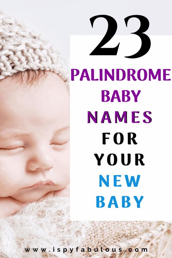 palindrome names