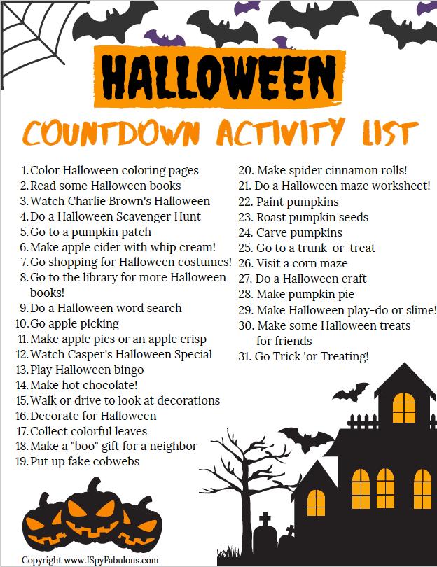 halloween-activities for kids