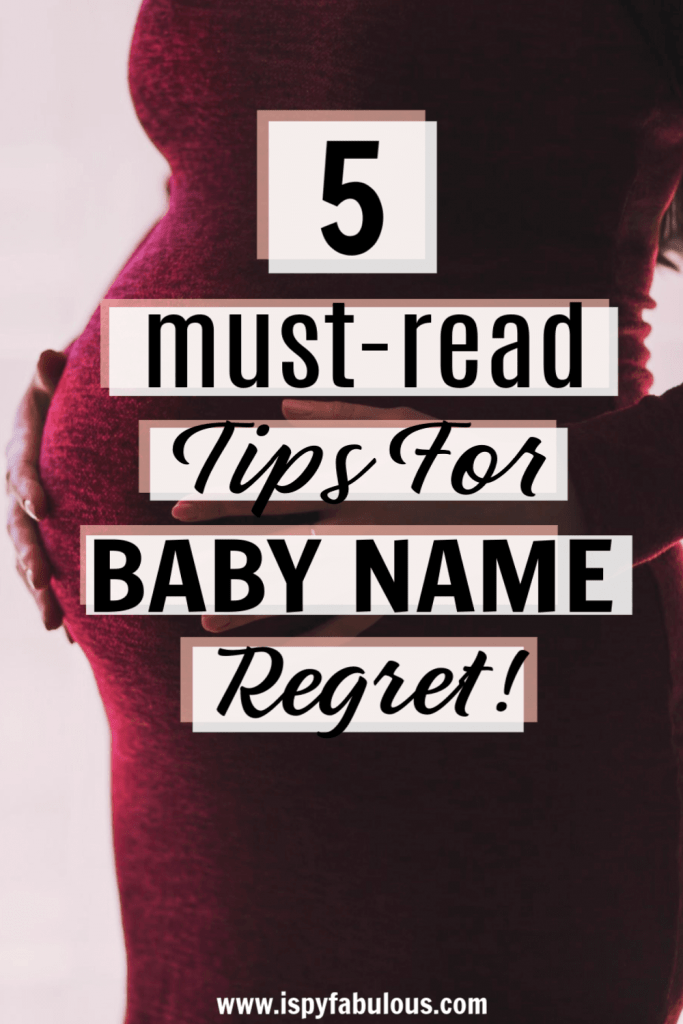 baby name regret