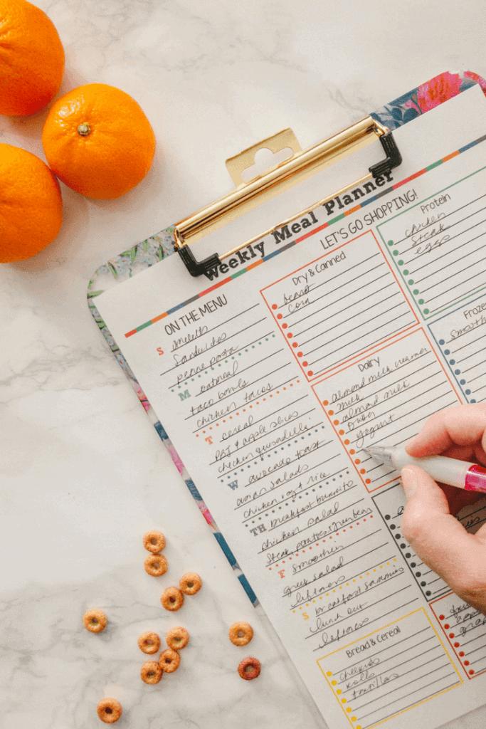 meal-plan-printable