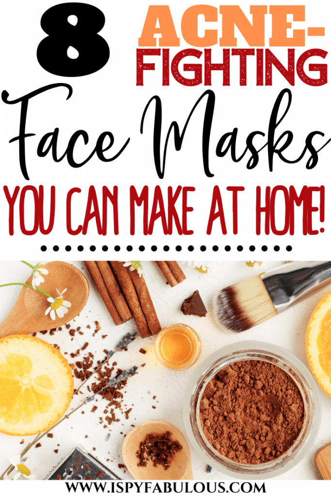 Homemade Face Masks for Acne