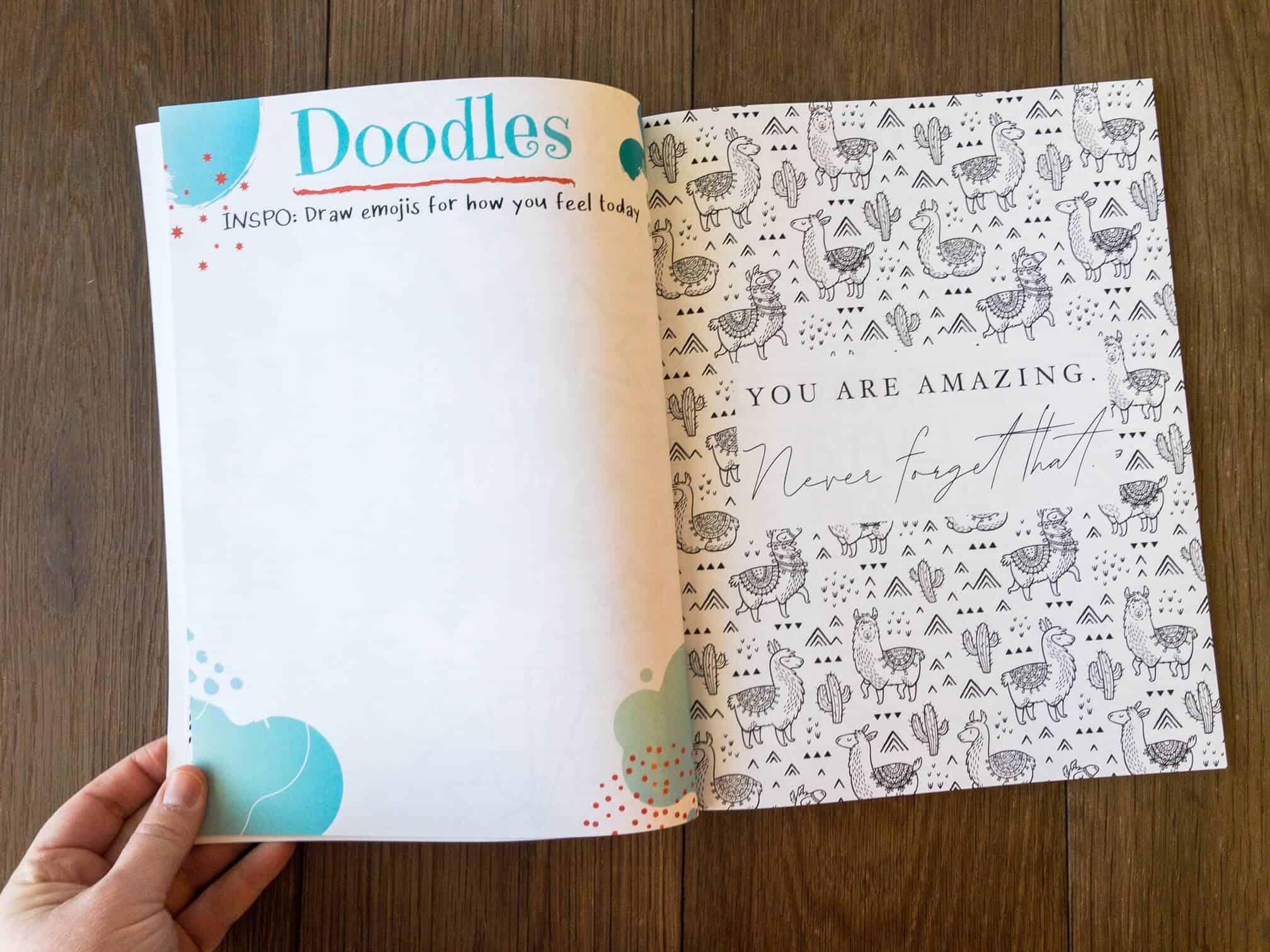 journal for tween girls
