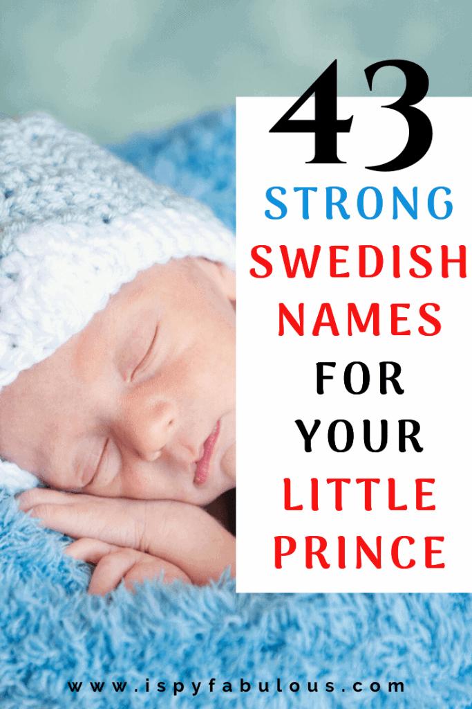 swedish boy names