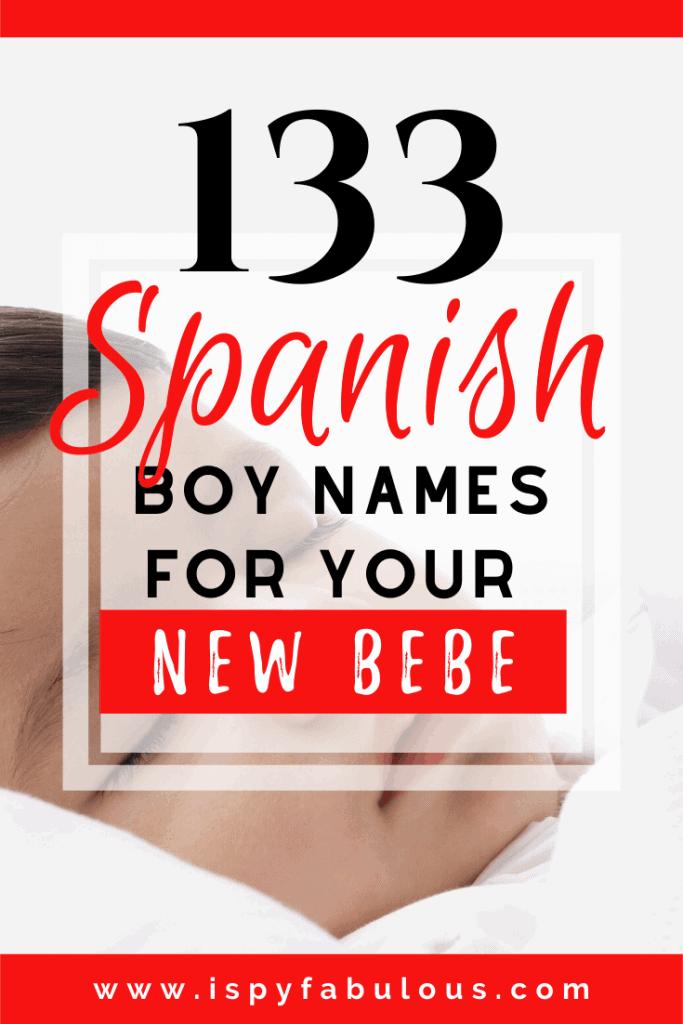 spanish boy names
