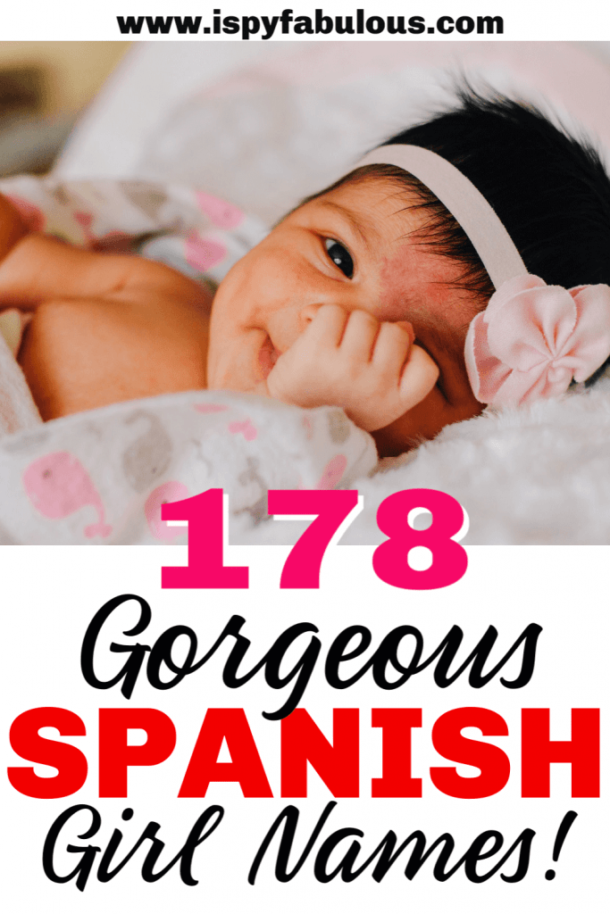 spanish girl names