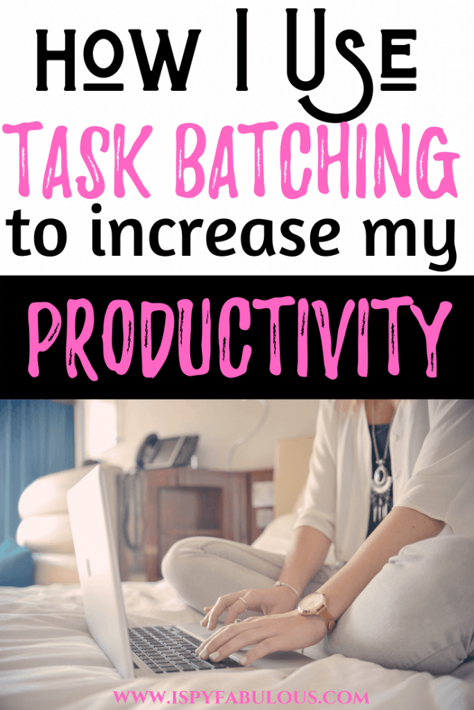 how to batch work