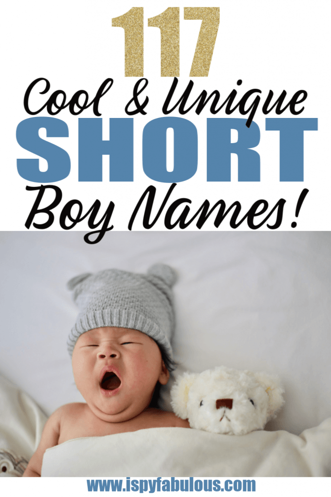 short boy names