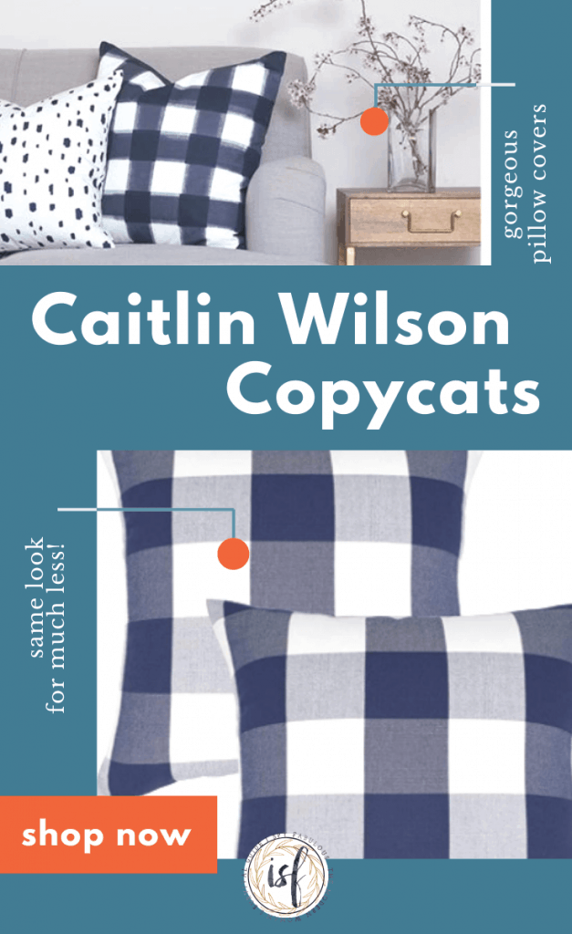 caitlin wilson copycat pillows