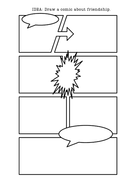 blank comic pages