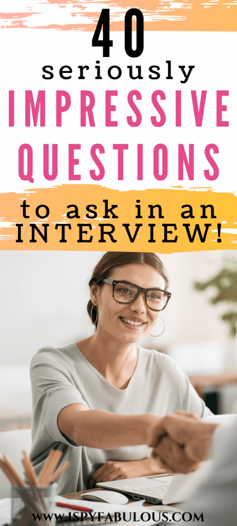 questions to ask in an interview