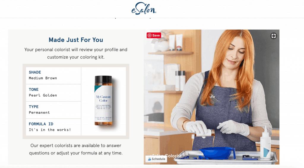at home hair color, esalon reviews