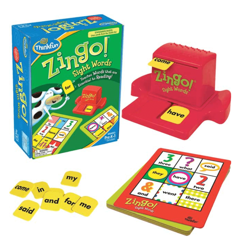 best board games for young kids, zingo