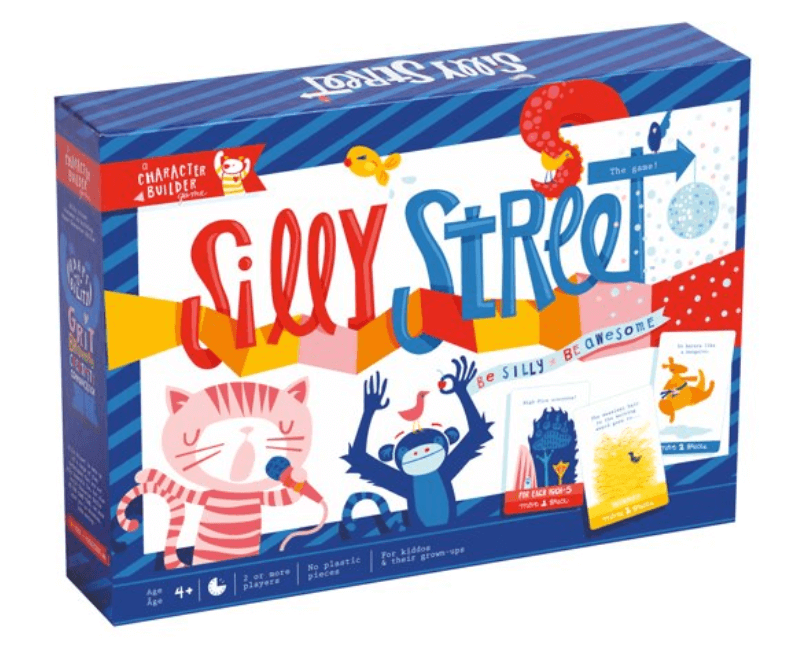 best board games for young kids, silly street