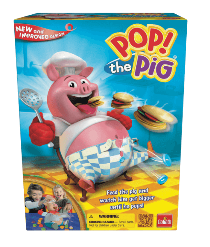 best board games for young kids, pop the pig