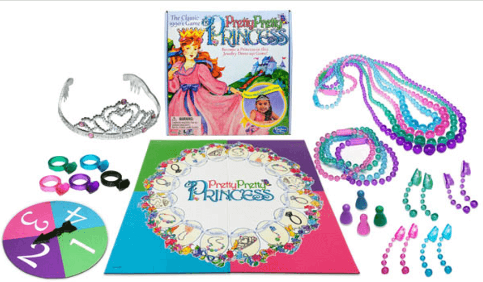 best board games for young kids, pretty pretty princess