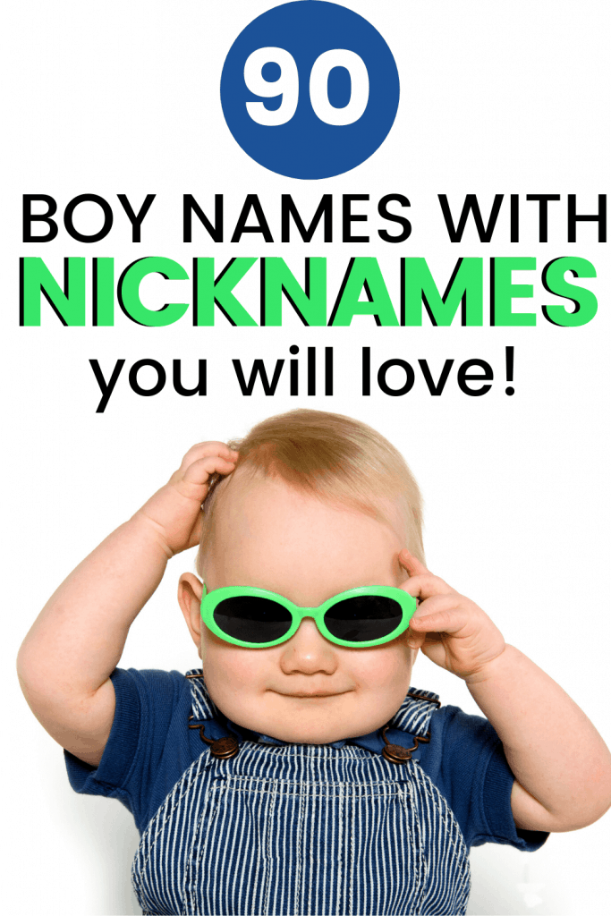 boy names with nicknames