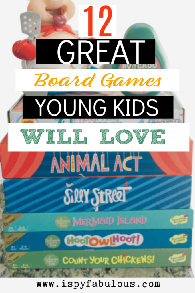 best board games for young kids