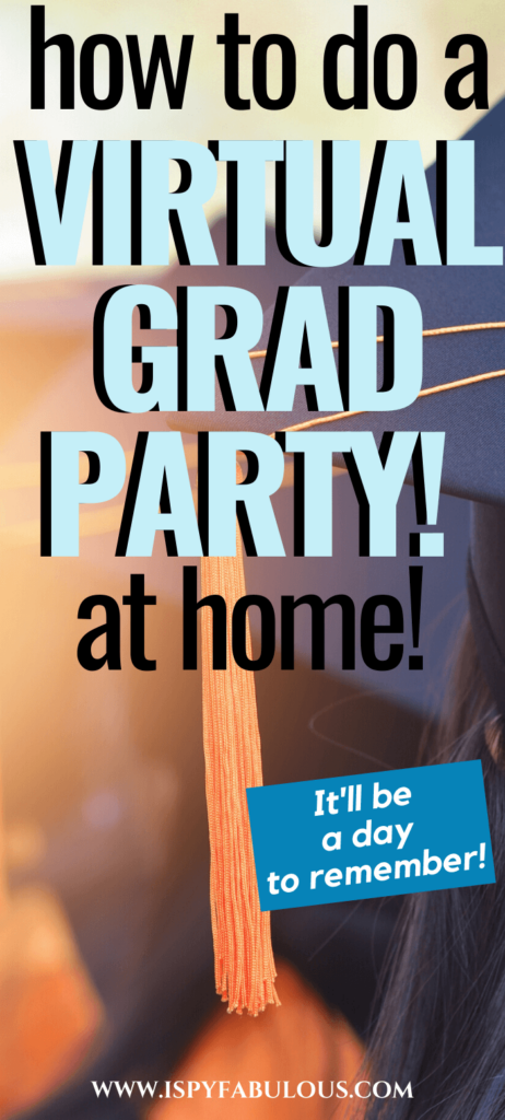 virtual graduation party
