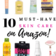 best skin care on amazon