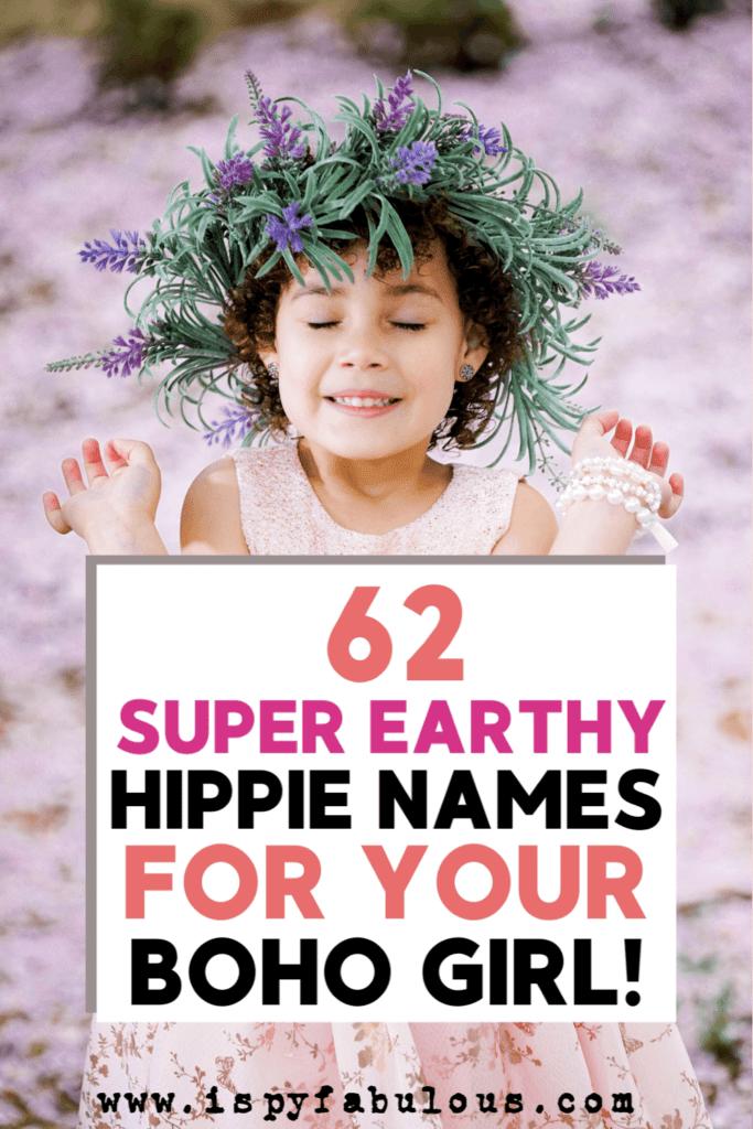hippie girl names