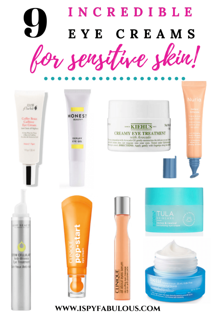 eye creams for sensitive skin