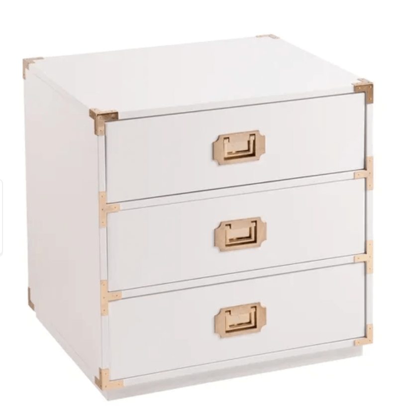 william sonoma campaign nightstand