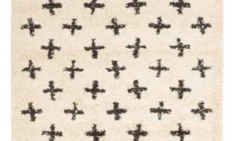 anthropologie cross rug