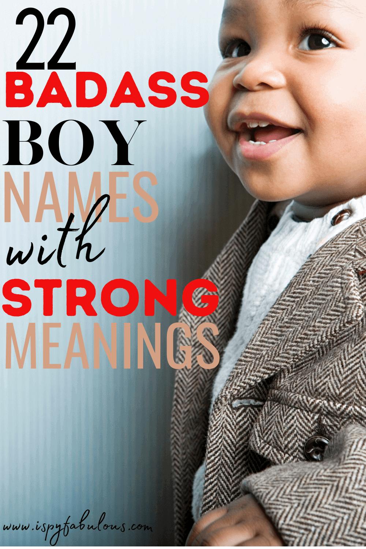 badass boy names