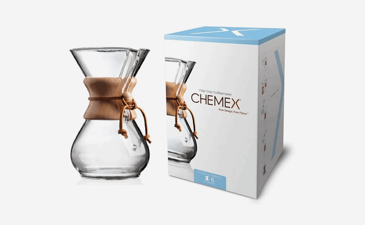 gifts for coffee lovers - chemex pour over