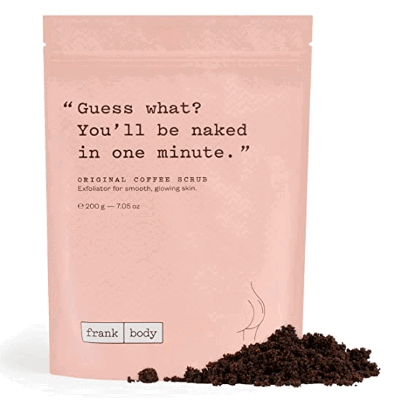 gifts for coffee lovers - coffee body scrub
