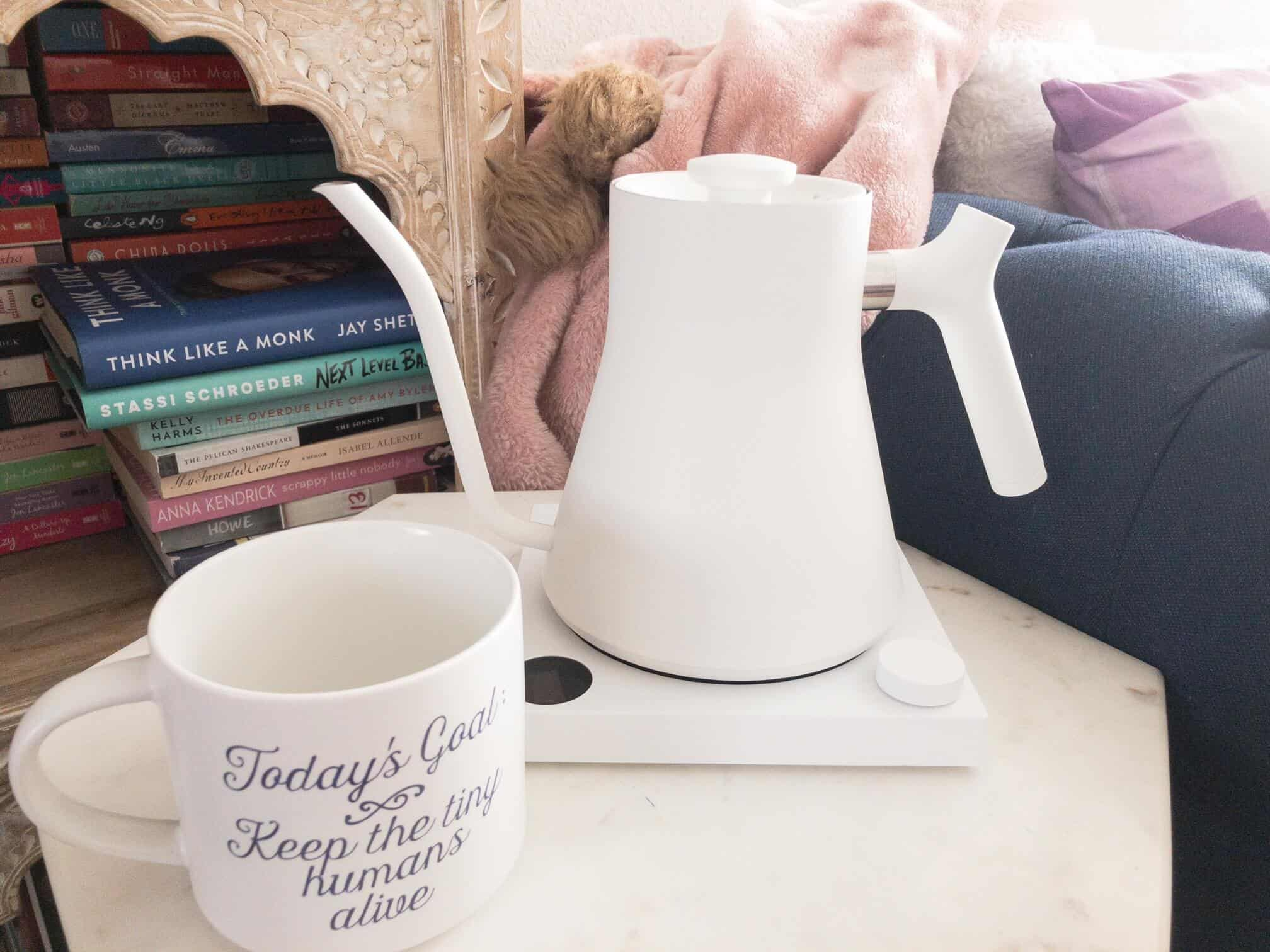 gifts for coffee lovers - fellow electric kettle