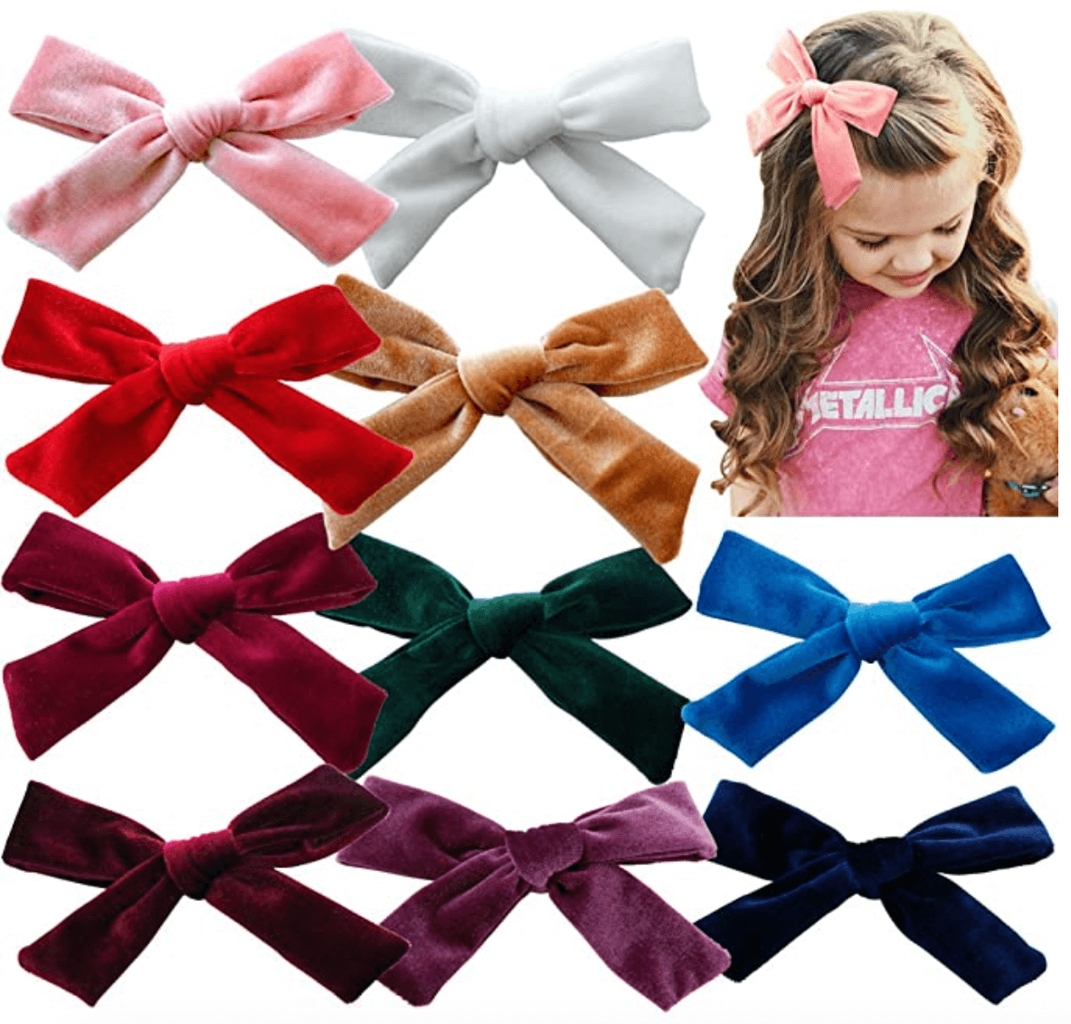 best girls hair bows