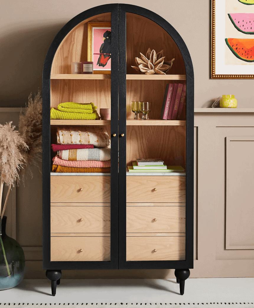 anthropologie fern cabinet lookalike
