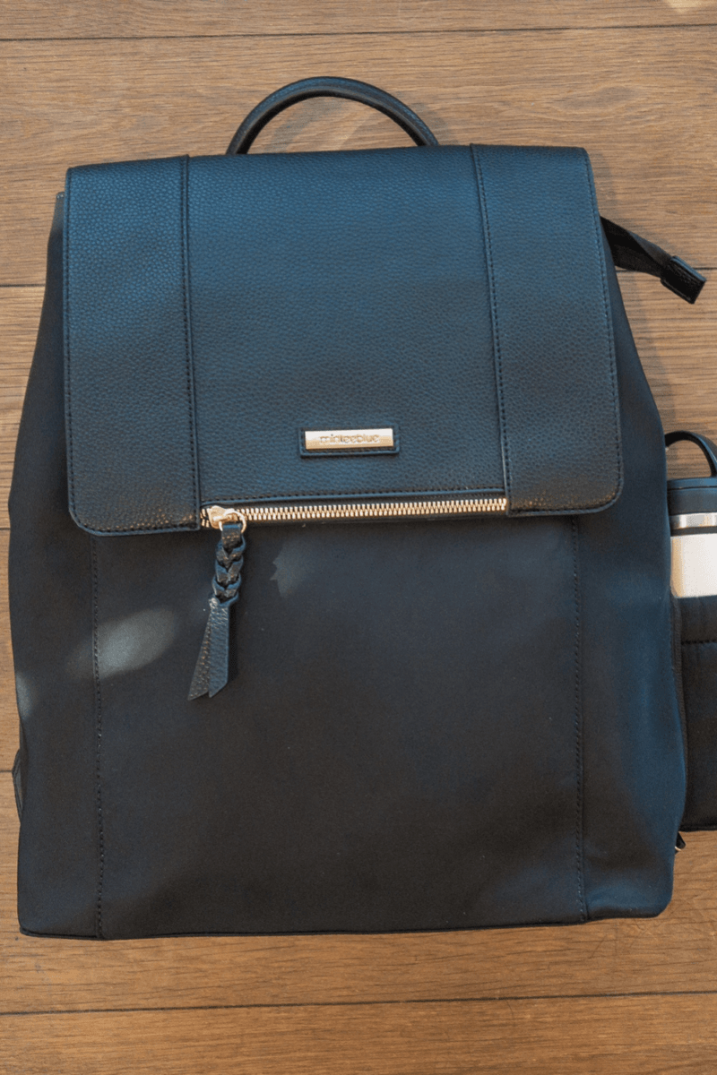 The Mariah Backpack by MinkeeBlue: The Best Laptop Bag for the Career Woman!