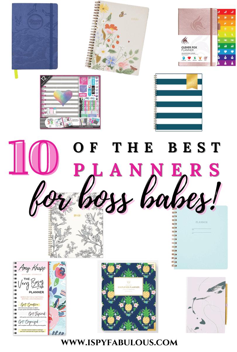 best planners