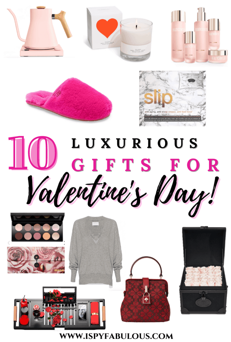 10 Luxurious Valentine's Day Gift Ideas for Her!