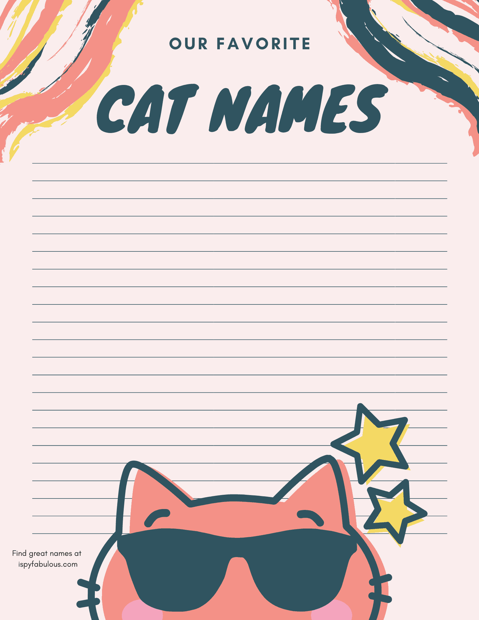 girl cat names