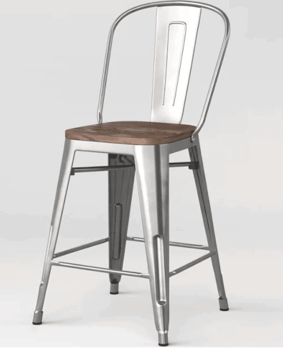 counter stools with backs