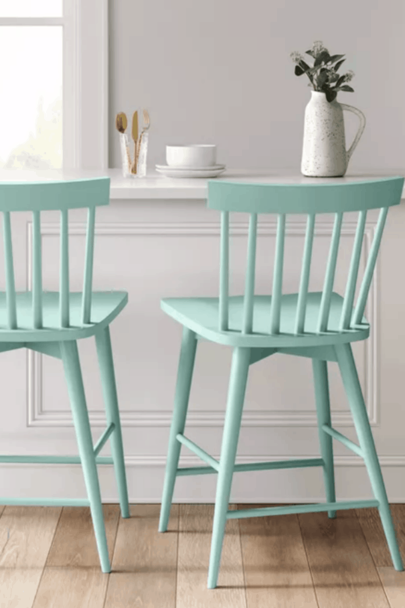 10 Easy-To-Clean Counter Stools with Backs Perfect for Families!
