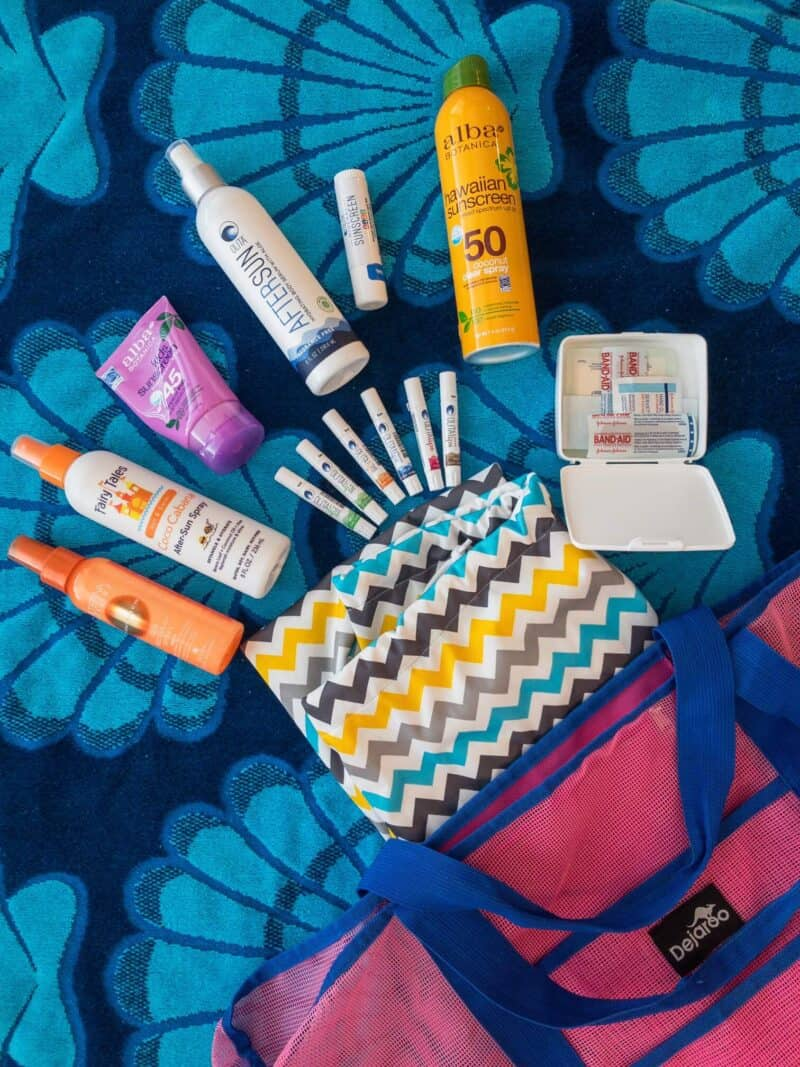 The Best Reef-Safe Sunscreen & What's In My Pool Bag